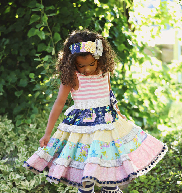 Mustard Pie Secret Garden McKenna Dress (sz 2t-8) | SPRING 2017 PREORDER