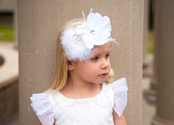 Haute Baby Swan Lake Headband