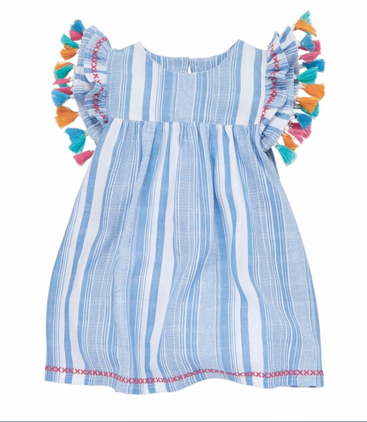 Mud Pie Tassel Dress |PREORDER|