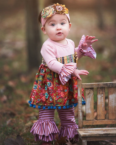 Haute Baby Gypsy Autumn Swing Set