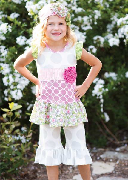 Giggle Moon Lily of the Valley Swing Set (sz 12m-4T) SPRING 2016 PREORDER