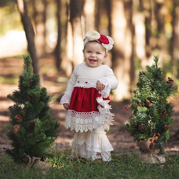 Haute Baby Tis the Season Infant/Toddler Dress | FALL 2018 PREORDERS