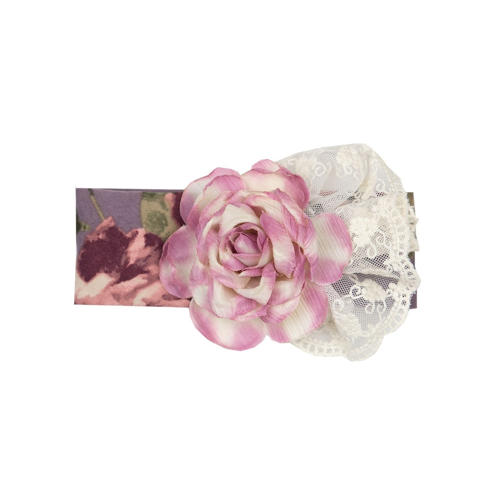 Haute Baby Girls Sugar Plum Headband (sz INF-TOD) | FALL 2018 PREORDER