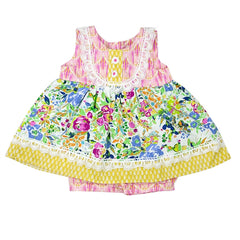 Floral Fantasy Little Girls Short Set | PREORDER