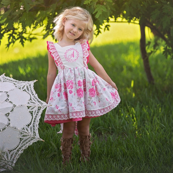 Garden Party Little Girls Dress | PREORDER
