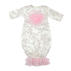 Hugs 'N Kisses Newborn Take Me Home Gown | PREORDER