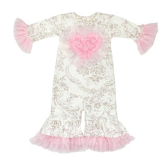 Hugs 'N Kisses Infant Girls Coverall