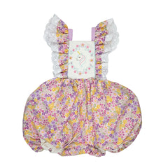 Let's Pretend Unicorn Bubble Romper