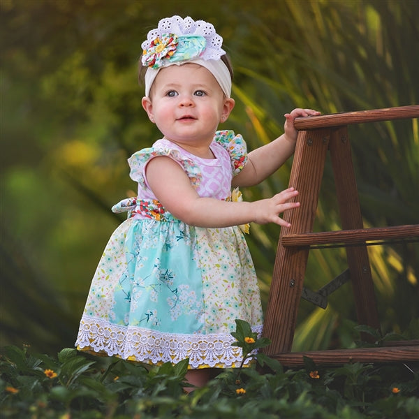 Spring A Ling Baby Girls Dress | PREORDER