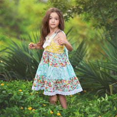 Spring A Ling Little & Big Girl Dress