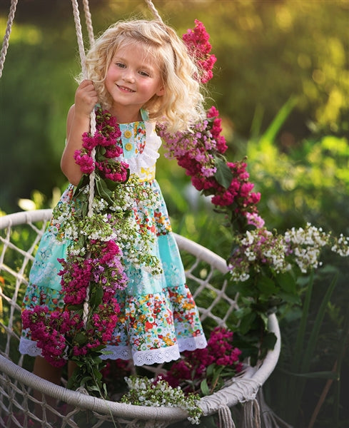 Spring A Ling Little & Big Girl Dress | PREORDER