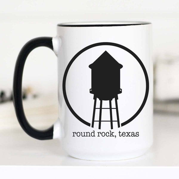 15 oz Round Rock Hometown Coffee Mug