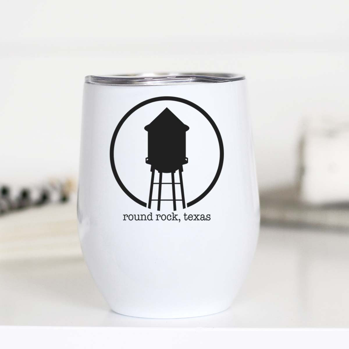 10 oz Round Rock Hometown Insulated Wine Cup |PREORDER|