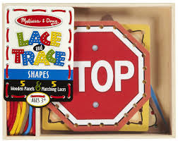 Melissa & Doug Lace and Trace Panels - Shapes