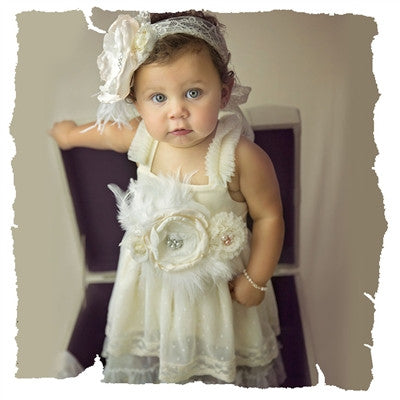 Haute Baby Frilly Frocks Sylvie Baby Girls Dress (sz 1 years - 2 years) SPRING 2017 PREORDER