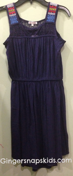 Ella Moss Bella Embroidered Knit Dress (sz 14 last one)