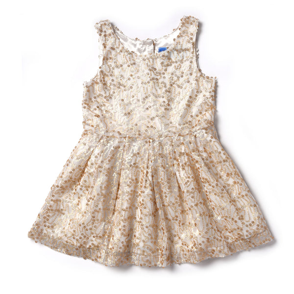 Kapital K Champagne Sequin Dress (sz 2-6) | FALL 2017 PREORDER