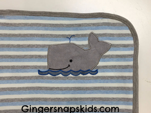 Cach Cach Grey Whale Blanket