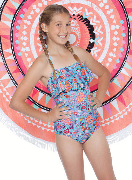 Gossip Girl Le Corsaire 1 pc Swimsuit (sz 7-14)