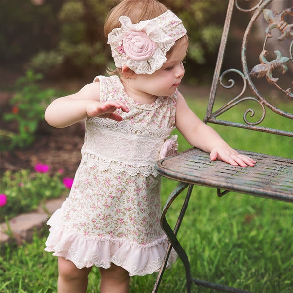 Haute Baby Girls Sweet Pea Dress  | SPRING 2018 PREORDER