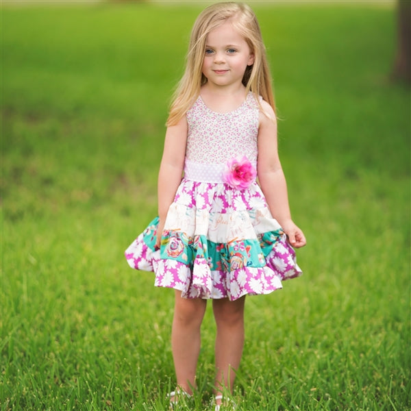 Haute Baby Girls Spring Zing Twirling Dress (sz 2T-10) SPRING 2018 PREORDER