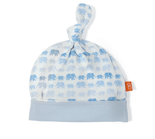 Magnificent Baby Magnetic Modal Blue Dancing Elephants Hat