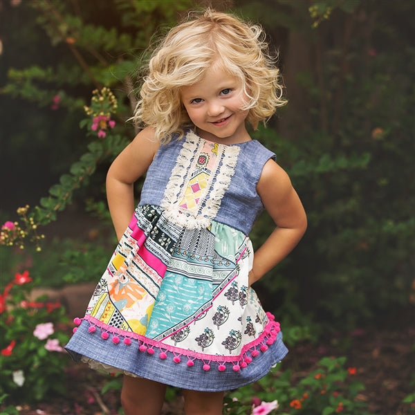Haute Baby Girls Chelsea Girl Dress (sz 2T-10) SPRING 2018 PREORDER