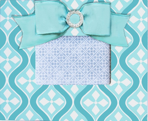 Mod Frame with Embellishment (Pink, Navy, Aqua)