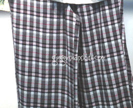 Wes and Willy Brushed Plaid Pants (sz 2-7)