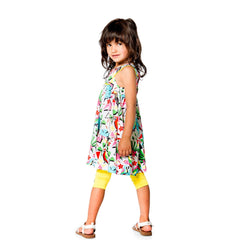 Deux Par Deux Jungle Pop Tunic & Leggings Set (sz. 2-6)