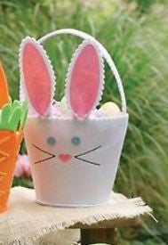 Mud Pie Bunny Easter Basket