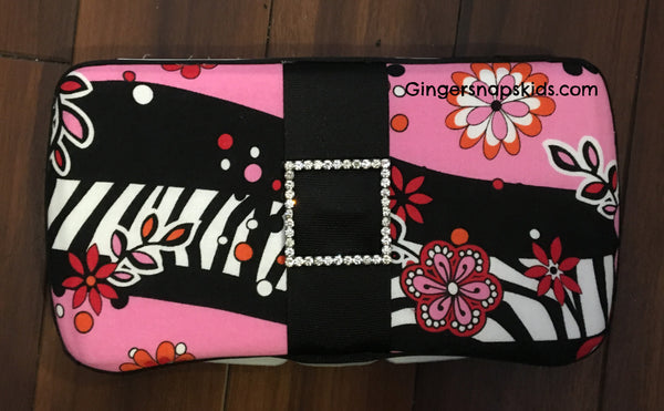 Zebra Fusion Travel Baby Wipes Case