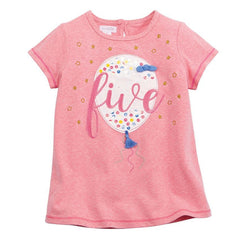 Mud Pie Five Birthday Tee