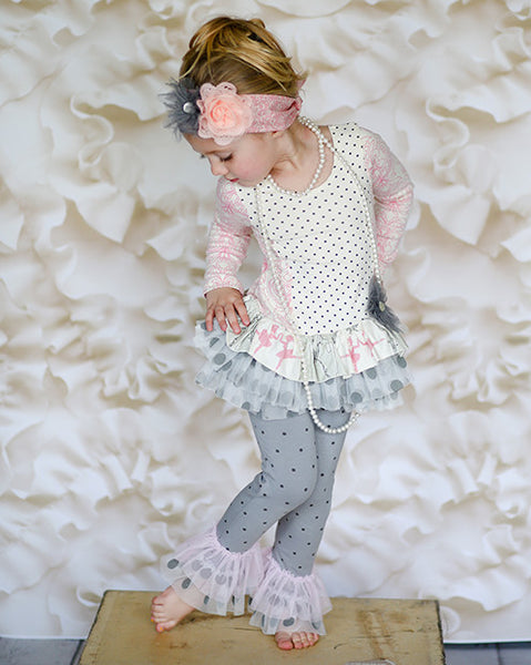 Giggle Moon Graced Swing Set (sz 6m-4T) FALL 2015 PREORDER