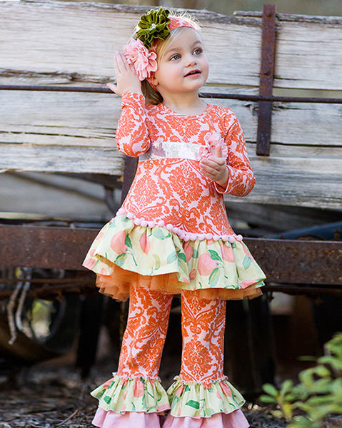 Giggle Moon Harvest Fields Swing Set (sz 12m-4T) FALL 2015 PREORDER