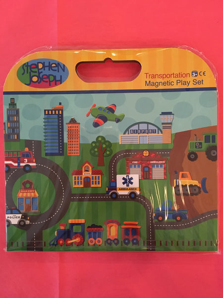 Stephen Joseph Transportation Magnetic Playset