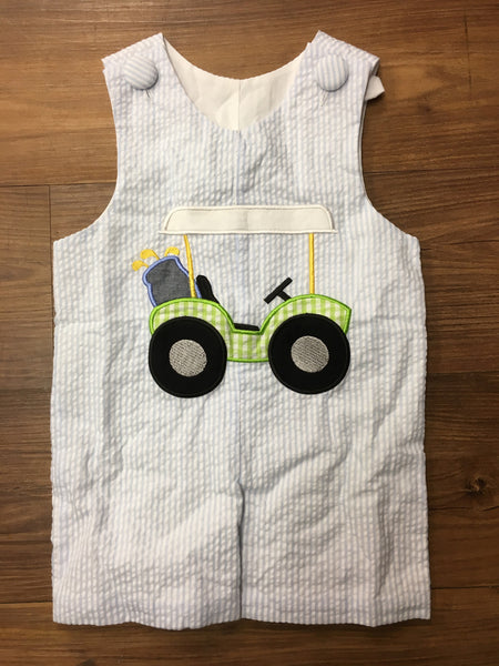 Three Sisters Boys Golf Applique Jon Jon (sz 3m-9m)