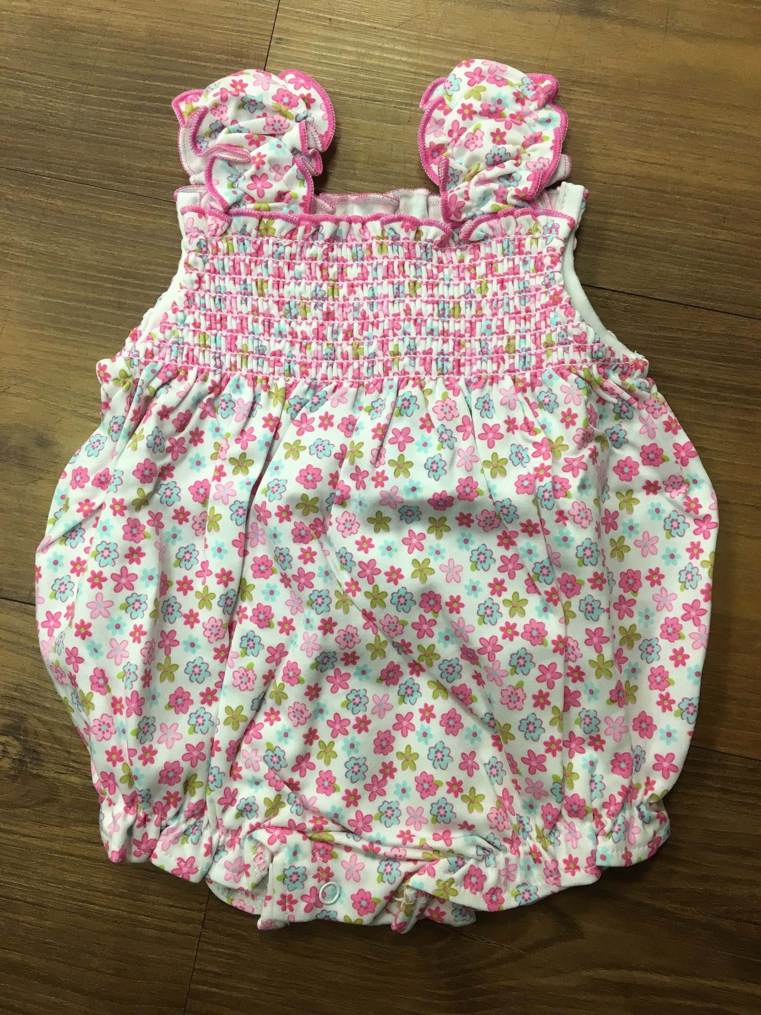 Kissy Kissy Girls Parisian Summer Bubble (sz 9m last one)
