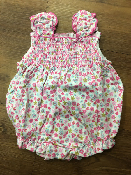 Kissy Kissy Girls Parisian Summer Bubble (sz 0/3m-9m)