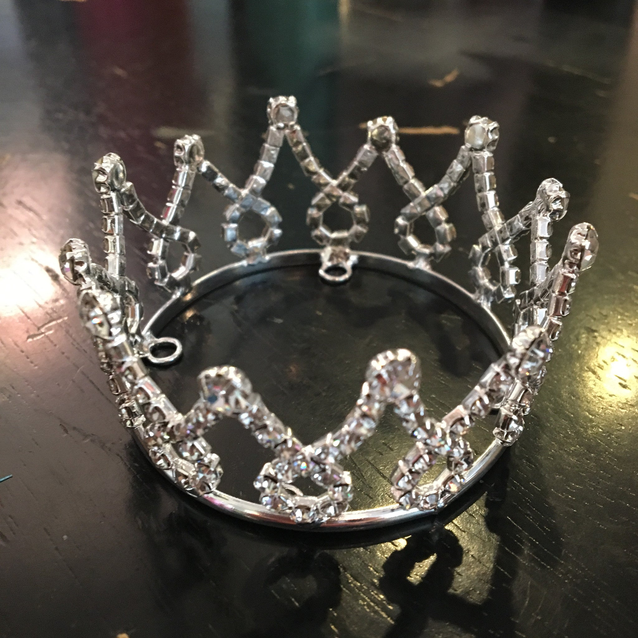 "Rhinestone Loop Crown (2.25"")"