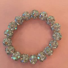 Crystal Ball Stretch Bracelet