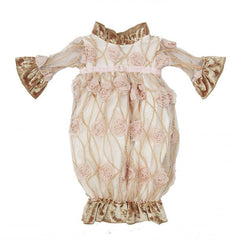 Haute Baby Ivy Rose Gown (sz 0-3m)