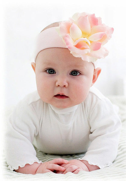 Jamie Rae Rose Headband (MANY COLORS)