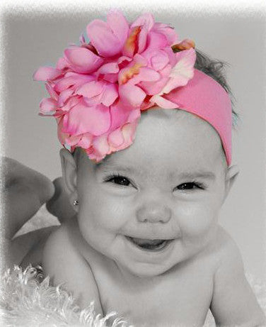 Jamie Rae Peony Headbands (MANY COLORS)