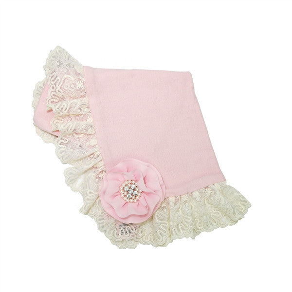 Haute Baby Lacey Rose Blanket
