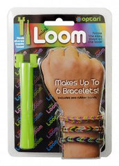 Mini Loom (Makes Rainbow Fishtail Rubber Band Bracelets and fits in your pocket--see you tube video below)