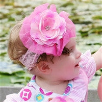 Haute Baby Perfectly Posh Clippie Headband
