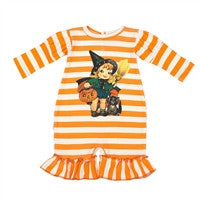 Haute Baby Pumpkin Patch Princess Coverall (sz 0-3m-12m) FALL 2015 PREORDER