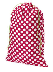 Red Polka Dot Santa Sack (monogram not included but can be added)