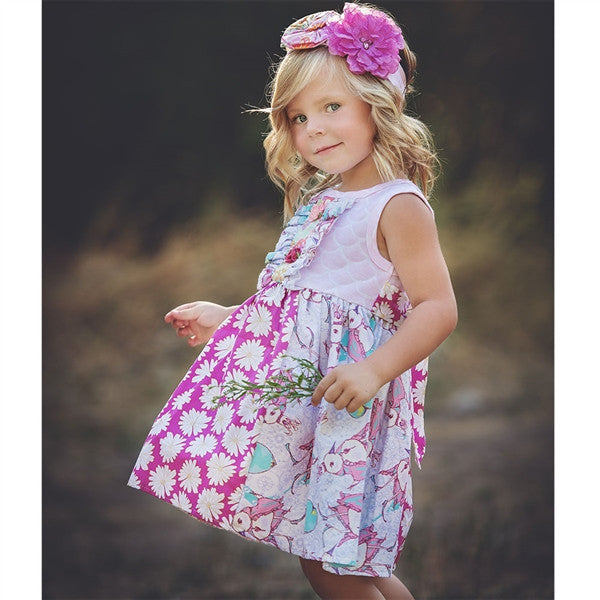 Haute Baby Simply Sweet Dress (sz 2T-6) SPRING 2016 PREORDER